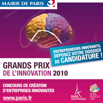 PRESANS : finaliste du Grand Prix de l'Innovation de la Ville de Paris 2009