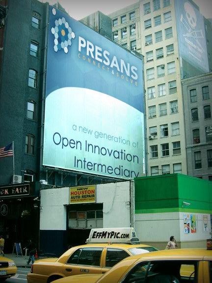 PRESANS ad campaign in US (fake!)