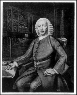 John Harrison would have registered on an open innovation platform such as PRESANS