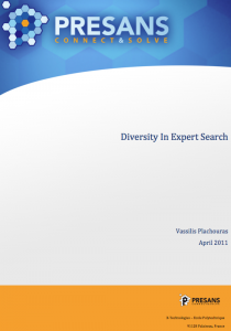 Diversity In Expert Search