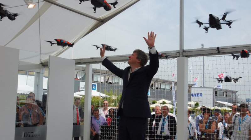 The Parrot Drone Story: Visionary Entrepreneur Meets Garage-Based Genius