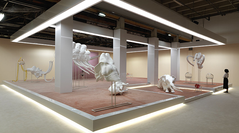 Marguerite Humeau Palais de Tokyo - Art and Science - Presans