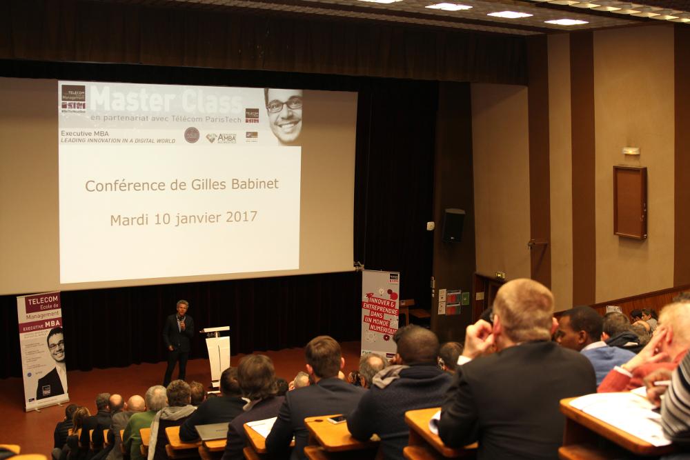 (Français) Masterclass EMBA : Gilles Babinet