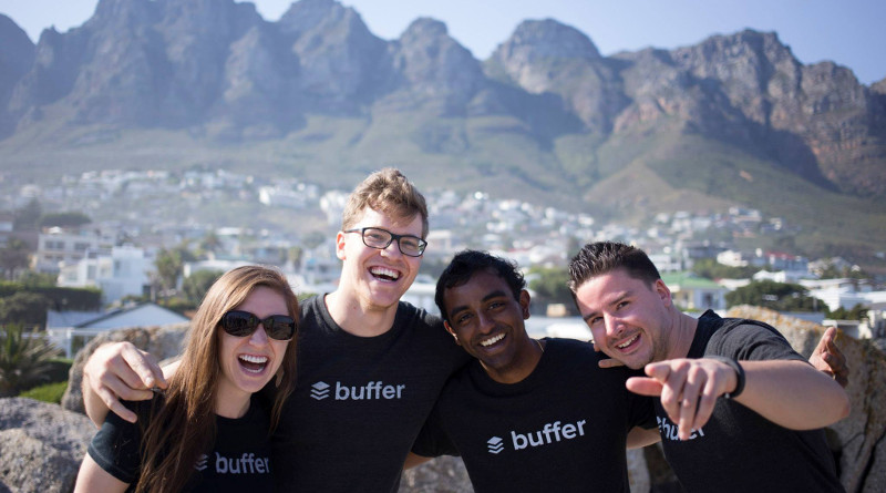 Buffer : l'entreprise sans bureaux, l'entreprise du futur?