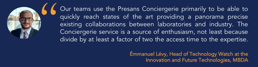 Case study: how MBDA uses the Presans Conciergerie