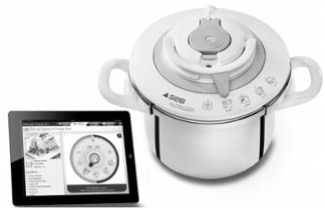 NutriCook is a first step in entering the future world of connected cooking and home management, making customer lives easier, more efficient, and more fun.